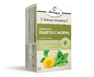 HERBATKA fix DIABETEX z MORWĄ