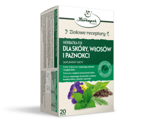 Herbatka fix Dla skóry, włosów i paznokci