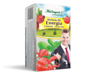 HERBATKA FIX ENERGIA Z GUARANĄ